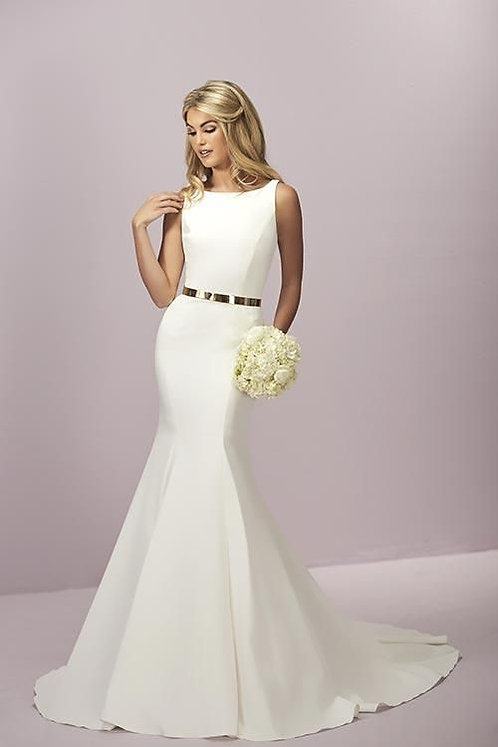 Simple Fit & Flare Gown