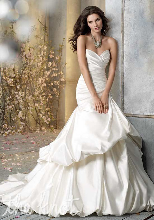 Jim Hjelm Strapless Gown