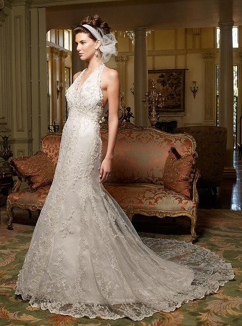 Casablanca Halter Gown