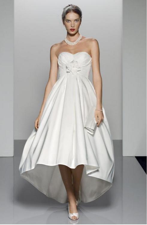 Tea Length Ball Gown