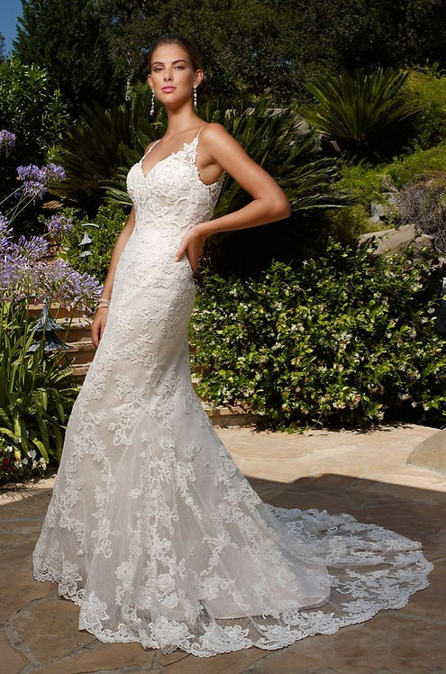 Casablanca Lace Gown
