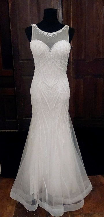 Isabelle Hart Beaded Gown