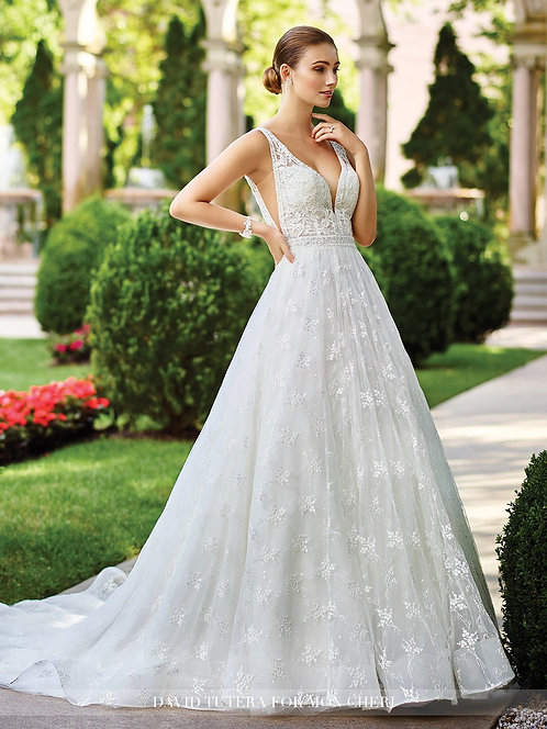 David Tutera Lace Gown
