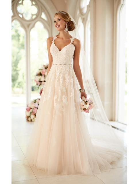 Stella York A-Line Gown