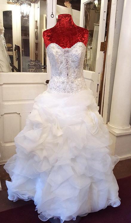 Ruffled Ball Gown