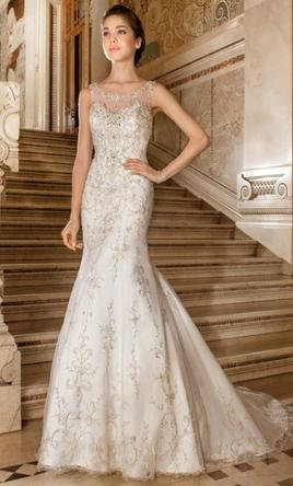 Demetrios '4326' Gown
