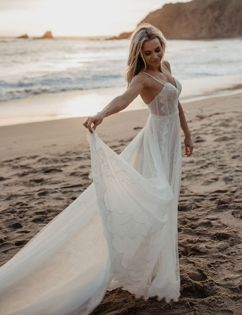 Flora Bridal 'Kate' Gown