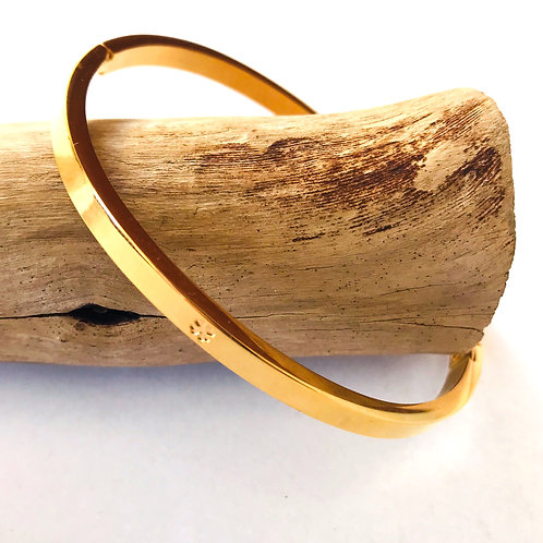 stainless steel bangle armband