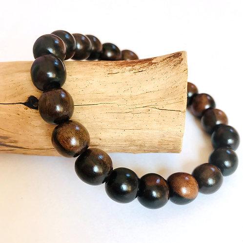 houten kralenarmband