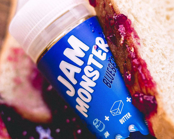 BLUEBERRY by Jam Monster (100ml. 3mg.)