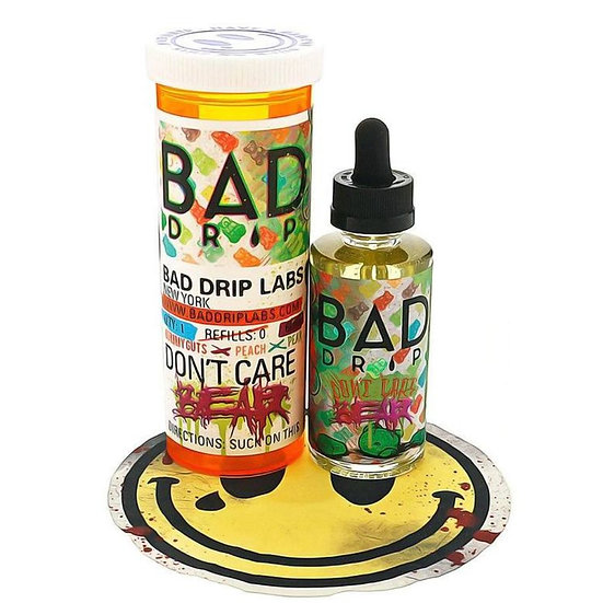 Don't Care Bear by BAD DRIP (60ml. 3mg.)