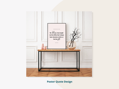 Poster Quote