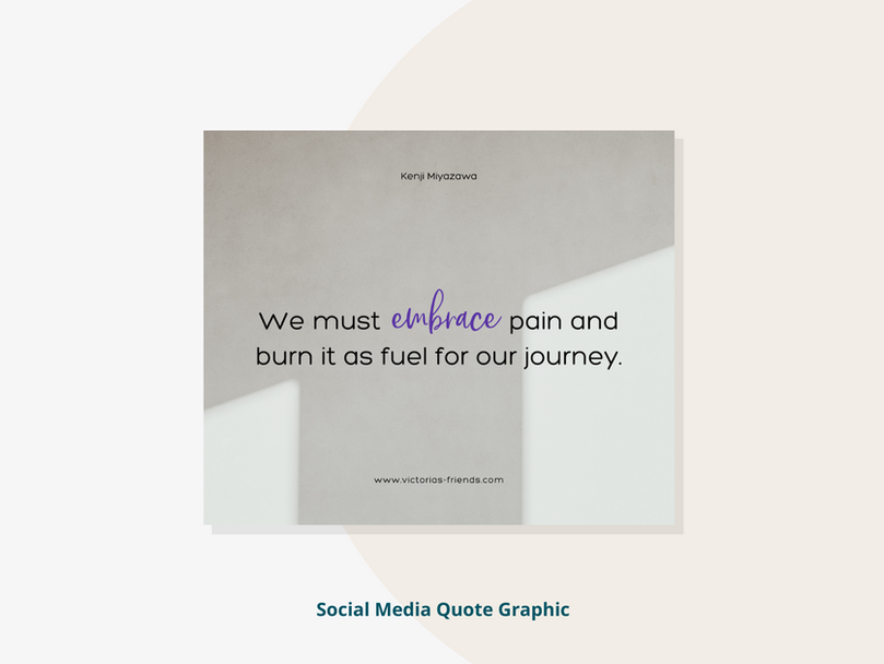 Social Media Quote Graphic