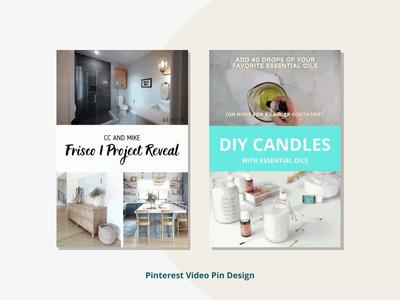 Pinterest Video Pin Design