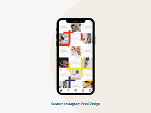 Custom Instagram Feed Design
