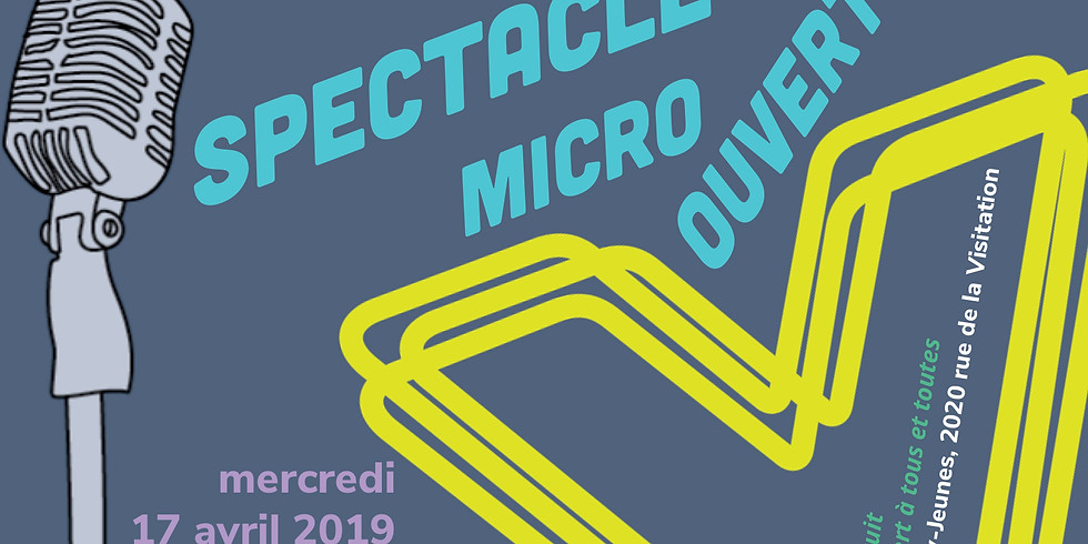 SPECTACLE MICRO-OUVERT Oxy-Jeunes