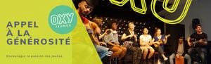 découvrez l'impact - faites un don à Oxy-Jeunes