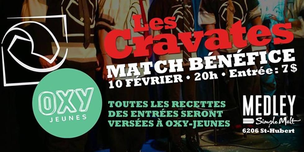 Spectacle d'improvisation au profit d'Oxy-Jeunes!