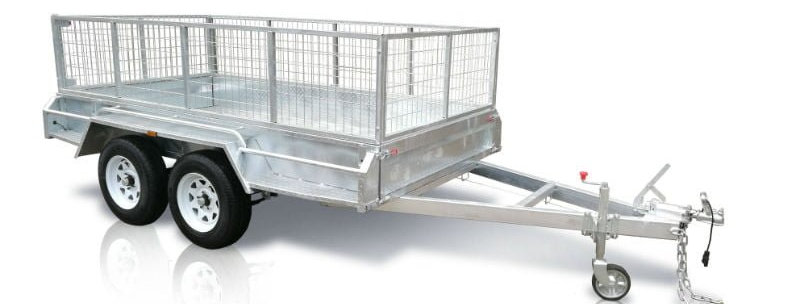 Rubbish Trailer Hire (10 x 5 with Cage) - Includes Dumping
