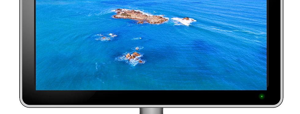 Pullen Island, Port Elliot - Desktop Wallpaper Screensaver