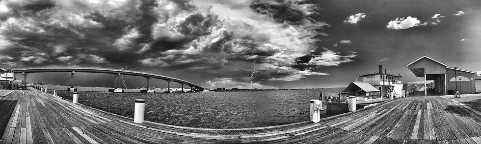 Storm Coming (Goolwa Wharf)
