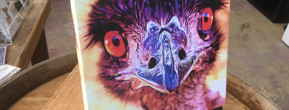WHAT!? Old Man Emu Mini Print