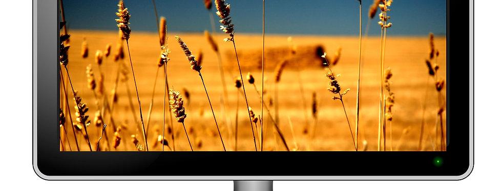 Farming Digital Photo Wallpaper Desktop Screensaver