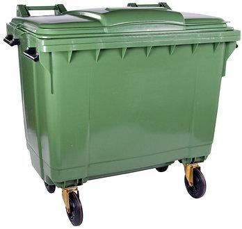 1100 Litre Wheelie Rubbish Bin Hire (7 Days)