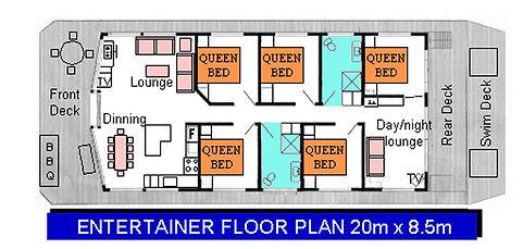 Entertainer Floor Plan