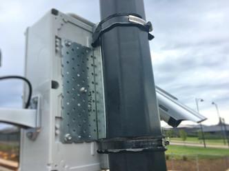 Surveillance Camera Pole Mount