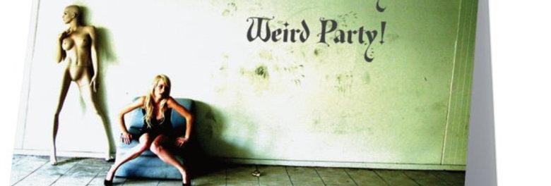 Weird Party Invitation - Halloween, Seance, Gothic Party Invitation