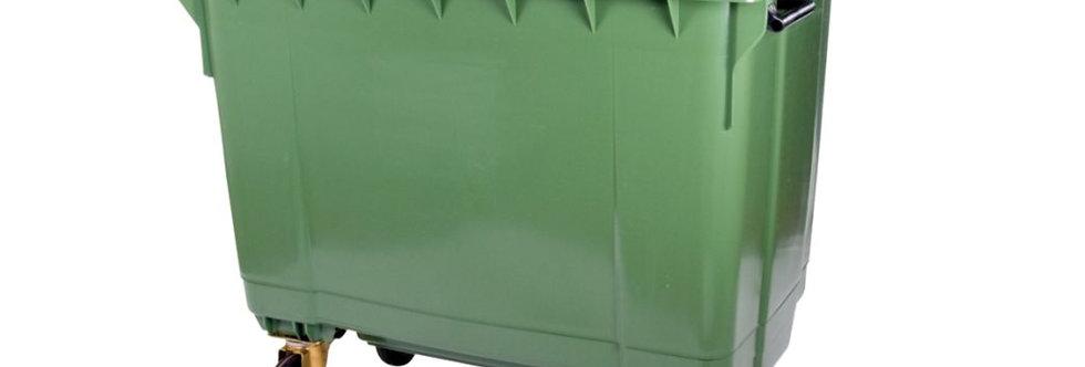 Green Waste Garden 660 Litre Wheelie Bin