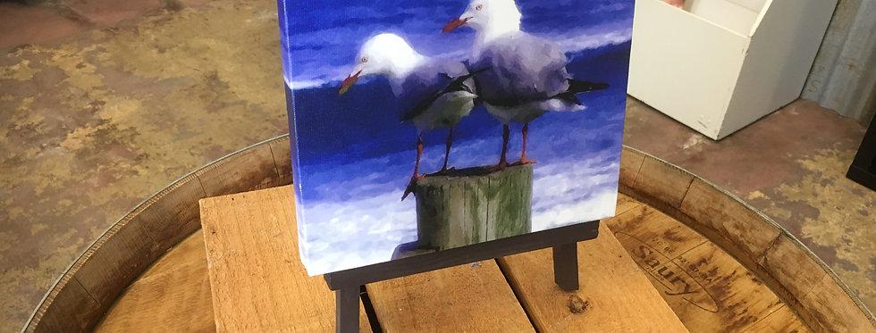 Friends Mini Canvas Print