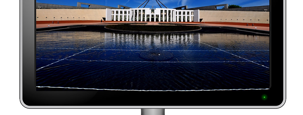 Parliament House Canberra - Digital Photo Wallpaper Desktop Screensaver