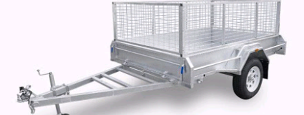 Taxi Trailer (7 x 5 With Cage)