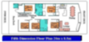 Fifth Dimension Floor Plan