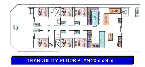 Tranquility Floor Plan