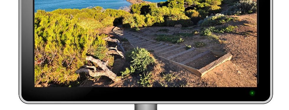 Freemans Knob, Port Elliot - Desktop Wallpaper Screensaver