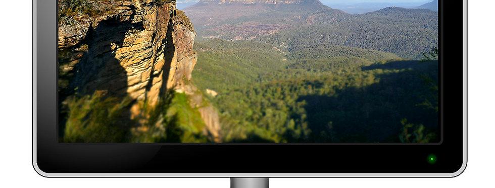 Blue Mountains Sydney Australia - Computer Wallpaper
