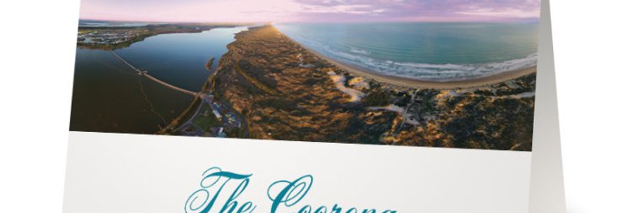 Coorong Greeting Card, South Australian Cards, Australian Birthday Cards