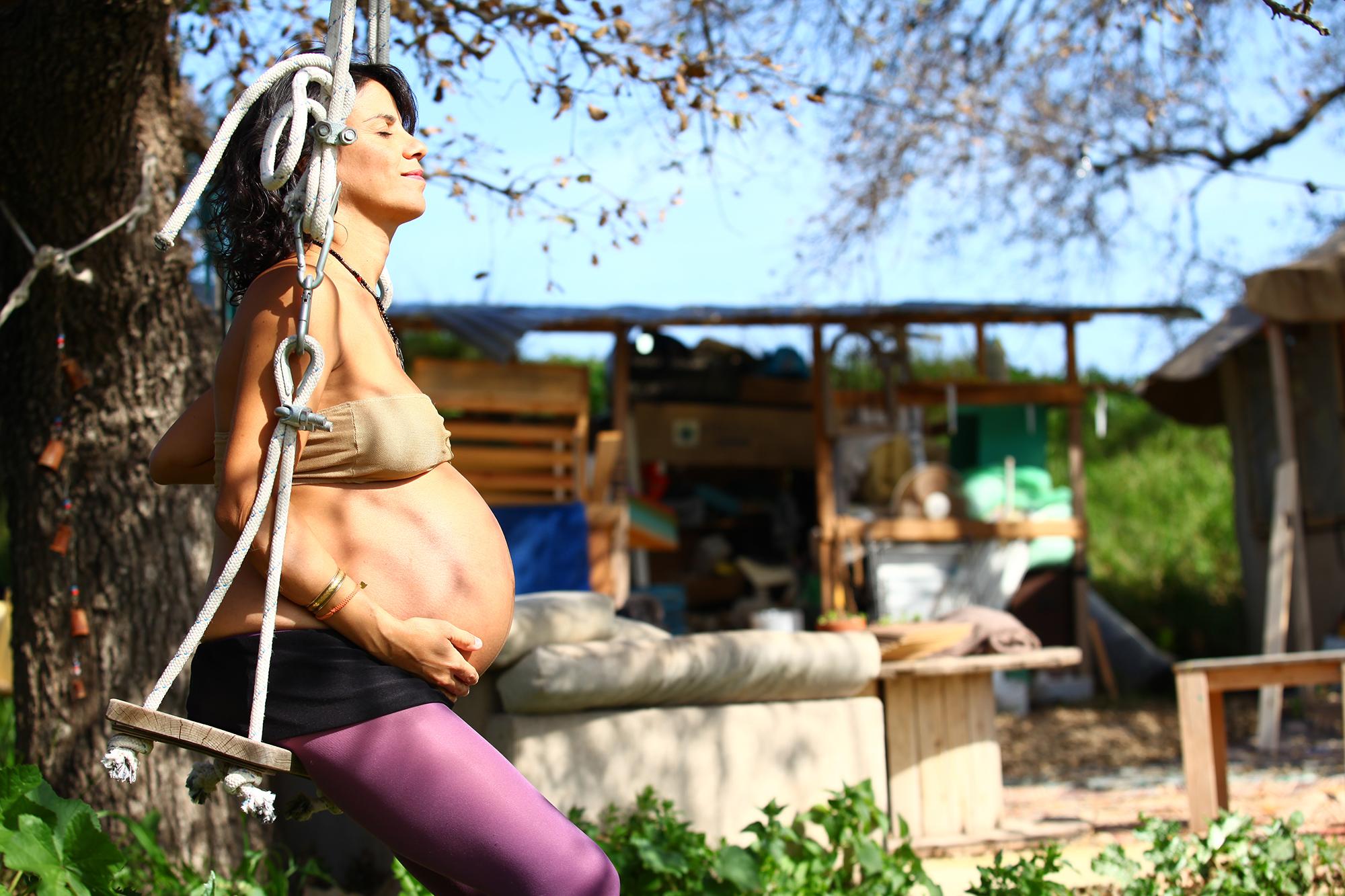 צלמת היריון