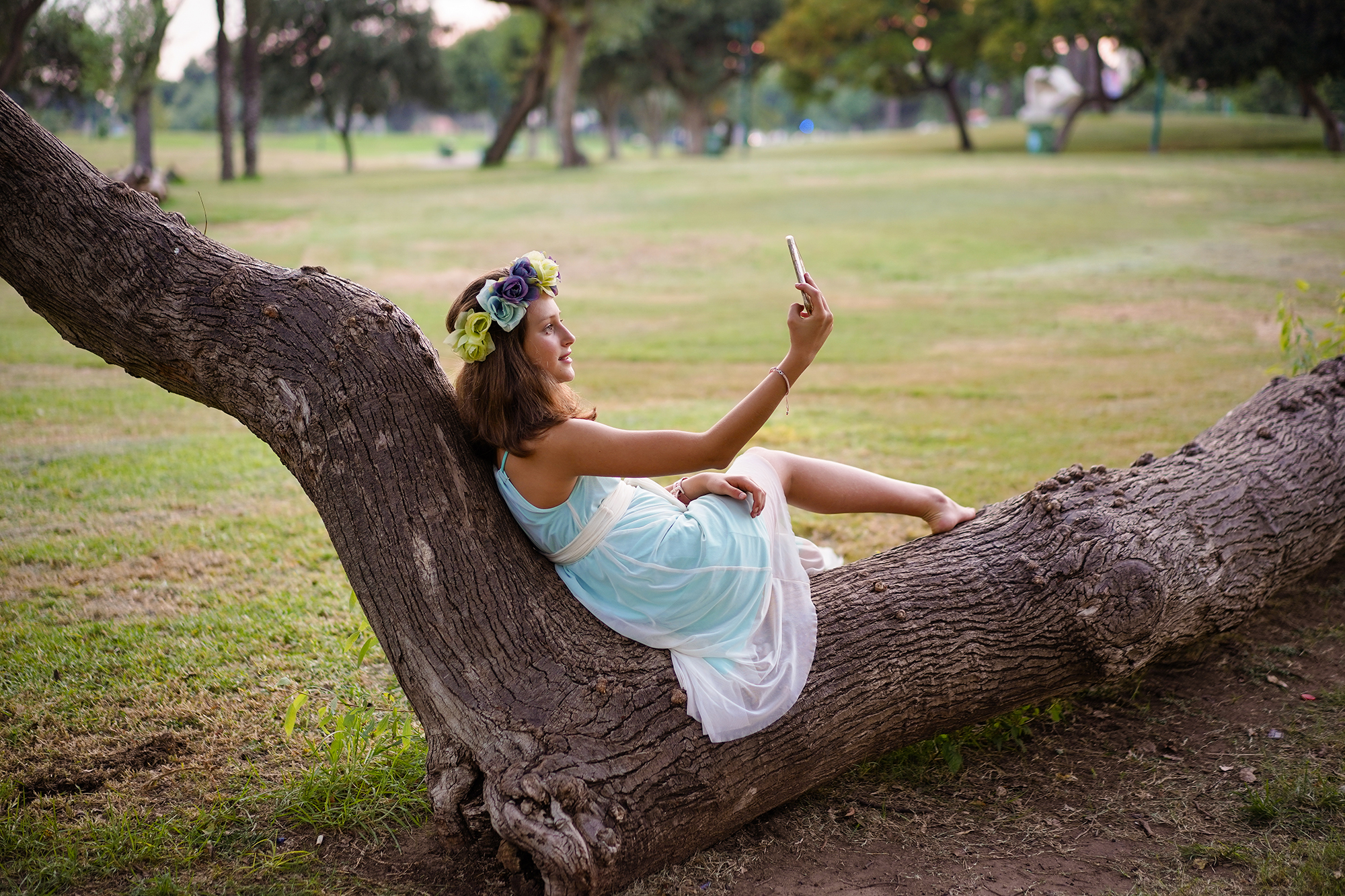 בוק בת מצווה בפארק הירקון