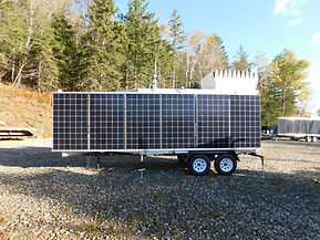 Sentrex Custom SoDAR and LiDAR Remote Power Supply Trailer