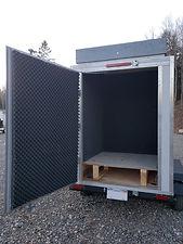 Empty SoDAR and LiDAR Remote Power Supply Remote sensor compartment