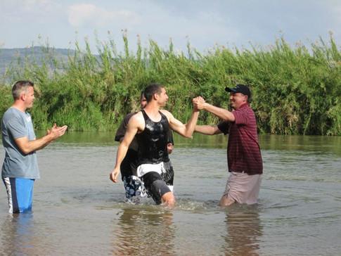 Baptism in Israel