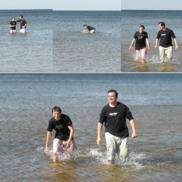 Baptizing in the name of the Father, Son and Holy Spirit