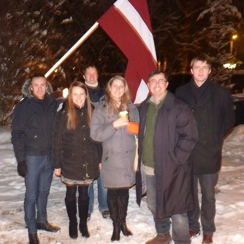 Farewell and God bless Latvia