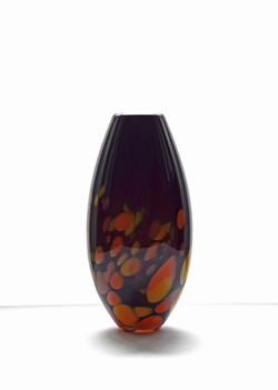 Orange Galaxy Vase