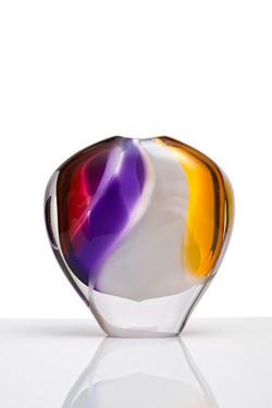 Colour Streams vase - Stout