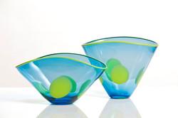 Elliptical Bowl and Vase